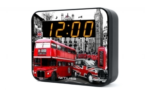 Radio cu ceas MUSE M-165LD portabil LED
