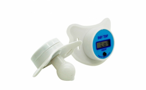 Termometru electronic incorporat insuzeta albastru