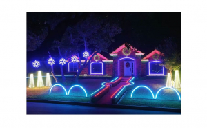 Furtun luminos LED, 20m, diverse culori, pentru interior sau exterior Black Friday Romania 2017