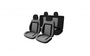 Huse scaune auto compatibile DACIA Sandero I 2007-2012 - EXCLUSIVE FABRIC Confort