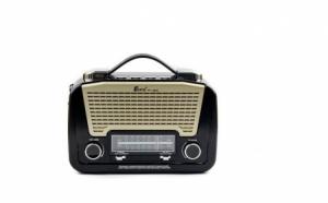 Radio AM, FM,  MP3 player cu lanterna