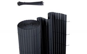 Protectie vizuala gradina PVC Antracit 1