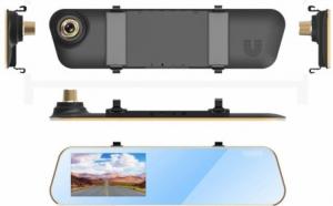 Camera auto profesionala oglinda retrovizoare, FullHD