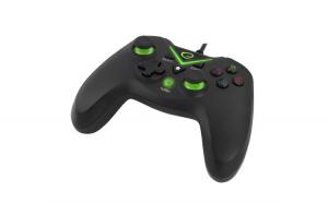 Gamepad , Cu Vibratii, PC/Xbox 360,USB, Negru