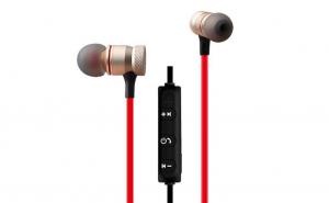 Casti audio Bluetooth sport, stereo