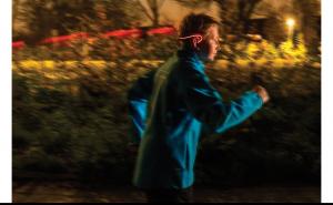 Casti pentru alergat cu LED