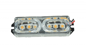 Stroboscop LED rosu 12V COD: SQ-3575