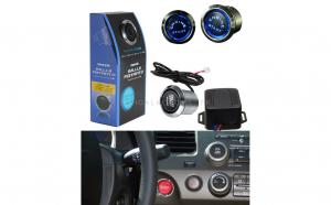 Kit buton pornire motor ES02 cu lumina Albastra