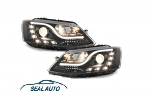 Set 2 faruri LED D-LITE compatibil cu VW