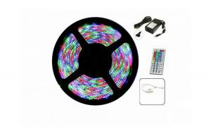 Banda RGB LED cu telecomanda si joc
