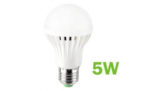 Bec LED SMD 5W, economic, dulie E27 6500K ( Lumina Rece), 220V, Iluminare pentru casa, model C21, la 7 RON in loc de 19 RON