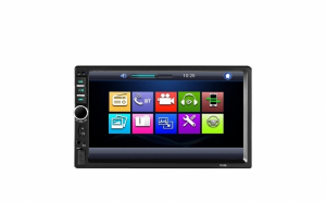 Mp5 player Dvd auto, Mirrorlink, 2 telecomenzi