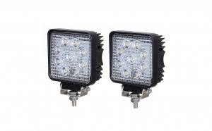 Set 2 x Proiectoare auto cu LED, 27W, 20mm