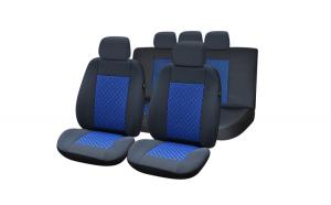 Set huse scaun lux – albastru