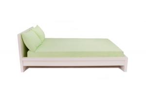 Set cearceaf cu elastic Frotir + 2 Fete Perna Verde