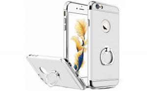 Husa iPhone 6 / 6S Joyroom LingPai Ring  Silver