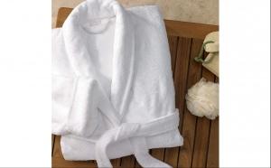 Halat de baie tip hotel 100% bumbac + sapun extracte naturale cadou