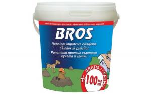 BROS – Repelent caini si pisici 350 ml + 100 ml extra