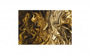 Tablou Canvas Aur Lichid 95 x 125 cm