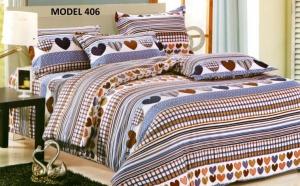 Lenjerie pentru pat dublu Pucioasa – fabricata in Romania. Calitate superioara oferita de producator roman cu peste 10 ani de experienta. Oferta include 2 bucati la doar 149 RON  in loc de 299 RON