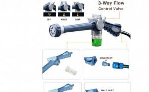 Pistol de apa cu dispensor