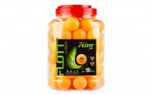 Set 60 mingi de ping pong in borcan de plastic FLOTT®, FTT0919