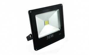 Proiector SLIM cu LED COB de 30W special pentru infrumusetarea si iluminarea spatiilor exterioare, Grad de protectie IP66 la numai 99 RON in loc de 215 RON