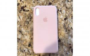 Husa Silicon iPhone XS Light Pink, Produse Noi