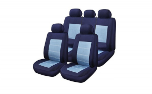 Huse Scaune Auto RoGroup Blue Jeans, 9