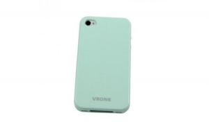 Husa iPhone din silicon Vrone - Candy Case Verde - iPhone 4/4S