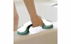 Maner ajutator pentru baie, util atat copiilor, cat si adultilor pentru mentinerea echilibrului.