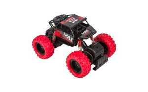 Masinuta de jucarie. model monster truck 4x4. negru/rosu