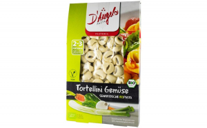 Tortellini bio cu legume, 250g D'Angelo