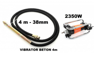 Vibrator pentru beton 2350W Lancie de 4m