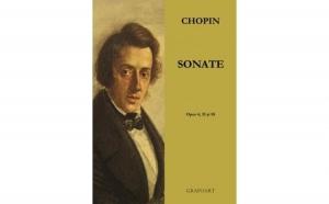 Chopin - Sonate, autor Frederic Chopin
