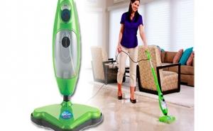 Mop 5 in 1 - curator si dezinfectant pentru toate pardoselile si covoarele