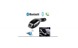 Modulator auto Reflection Vision® Telecomanda Model X7 Modulator FM, Alimentare la 12V, Bluetooth