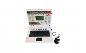 Laptop de jucarie cu 80 functii, limba engleza, ecran LCD