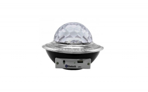Glob disco cu LED RGB jocuri de lumini si MP3 LED UFO Bluetooth Crystal Magic Ball