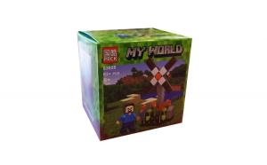 Set de constructii cuburi, Lume mea, 62 piese, 63025D-2