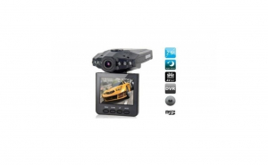 "Camera auto Full HD, cu display 2.5"" TFT, rabatabil, 270 grade, 6 leduri cu infrarosu si senzor de miscare 3.3"