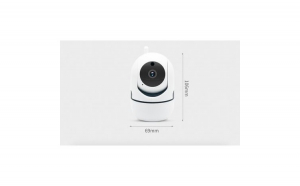Camera de supraveghere Interior IP Pan/Tilt Smart Wireless WiFi, Android si iOS