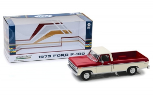 1973 Ford F-100 - Red and White Two-Tone