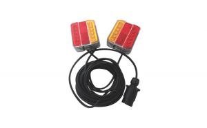 Kit stop lampi cu LED si magnet 12V