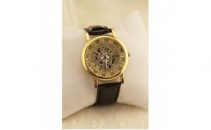 Ceas KingS Quart Gold Edition, la doar 79 RON in loc de 158 RON