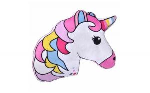 Perna decorativa, viu colorata, unicorn
