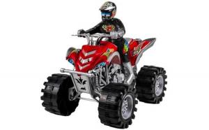 Motocicleta de jucarie ATV Crazy Racing