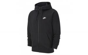Hanorac barbati Nike Club Full-Zip Hoodie BV2648-010