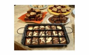 Tava compartimentata Perfect Brownie