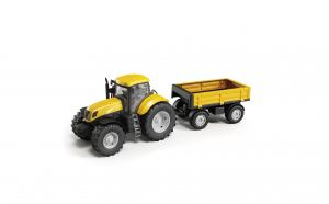Tractor galben cu remorca, ADRIATIC